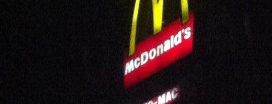 McDonald's is one of Comida.