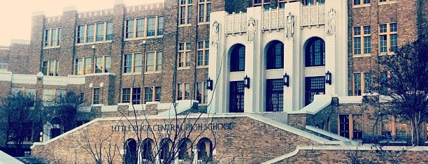 Little Rock Central High School National Historic Site is one of Civil Rights Moments.