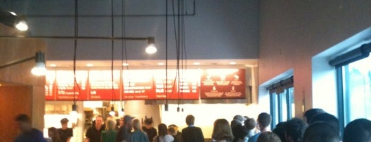 Chipotle Mexican Grill is one of places to go.