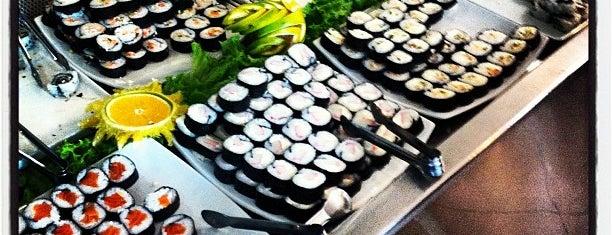 Goya Sushi Bar is one of Wi-fi grátis.