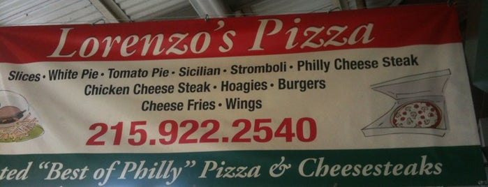 Lorenzo's Pizza is one of The 15 Best Places for Philly Cheesesteaks in Philadelphia.