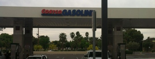 Costco Gasoline is one of the rose.