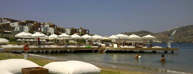 Moon Beach & Lounge is one of Bodrum !!.