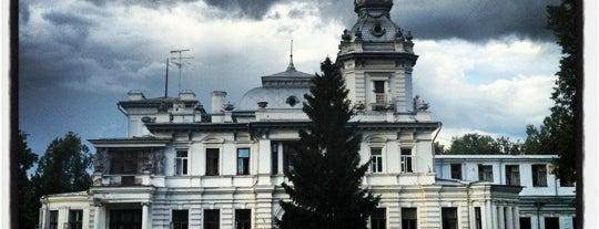 Грачёвский парк is one of парки сао.