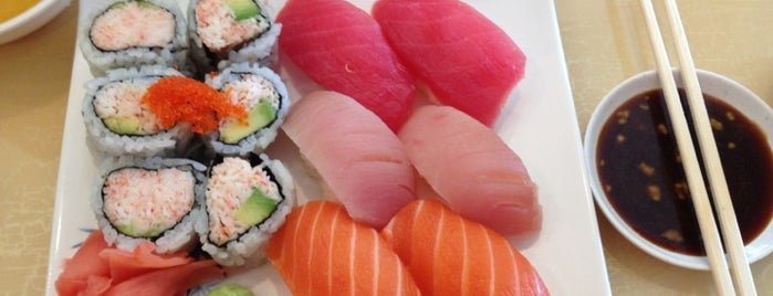 Yoyogi Sushi is one of ALL the noms.