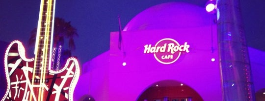 Hard Rock Cafe Hollywood at Universal CityWalk is one of HARD ROCK CAFE'S.