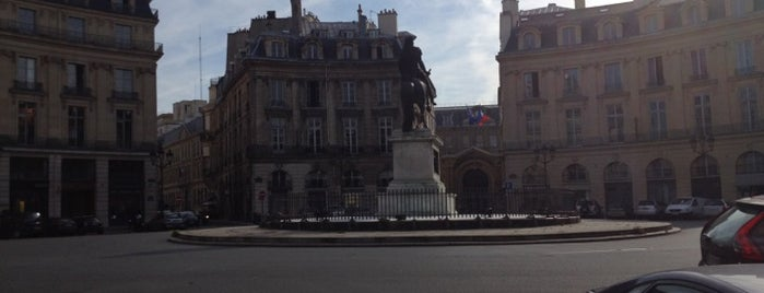 Place des Victoires is one of Paris must see.