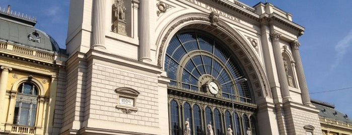 Eastern Railway Station is one of Budapest/2011.