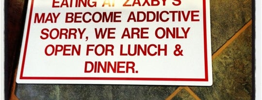 Zaxby's Chicken Fingers & Buffalo Wings is one of My Places.