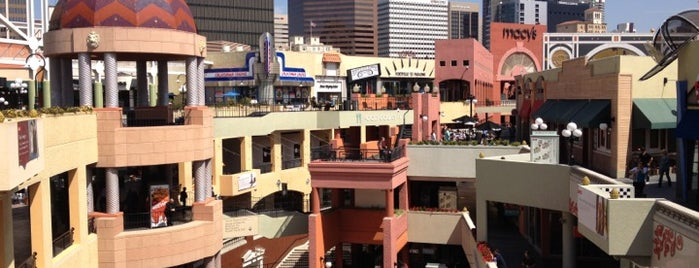 Westfield Horton Plaza is one of I've been here.