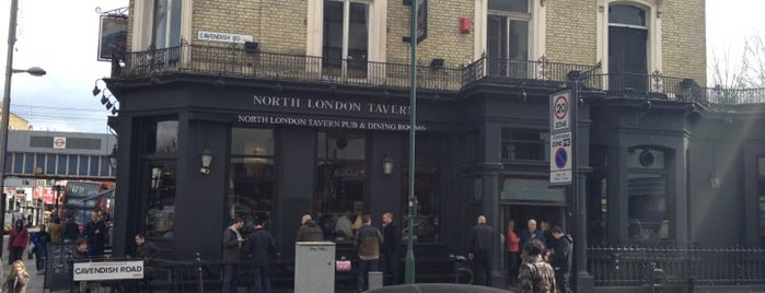 The North London Tavern is one of Pubs Close to Hillspring Lodge.