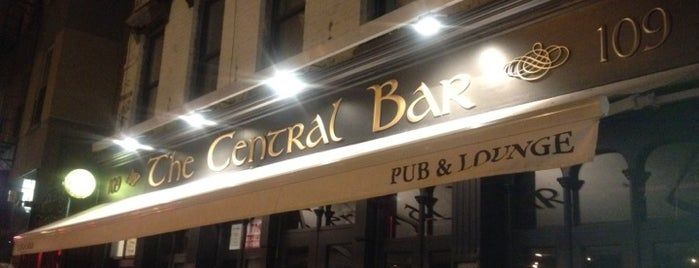 Central Bar is one of NYC Soccer.