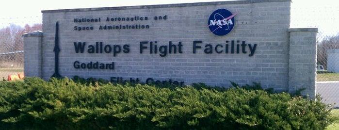 NASA Wallops Flight Facility is one of NASA.