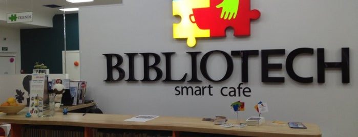 Smart Cafe BIBLIOTECH is one of Gourmet Club Members.