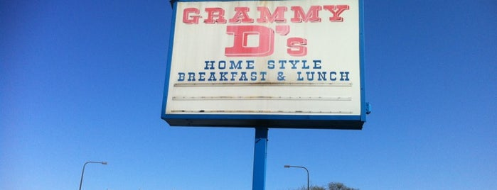 Grammy D's is one of Food.