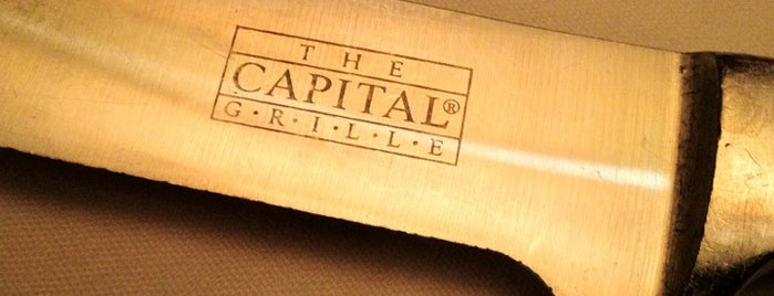 The Capital Grille is one of Orlando/Winter Park.