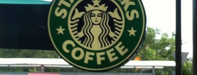 Starbucks is one of Top 10 places.