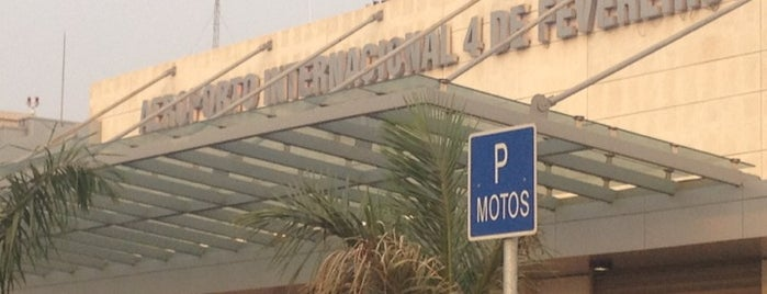 Aeroporto Internacional 4 de Fevereiro is one of World AirPort.