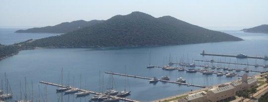 Kaş Marin Yacht Club is one of kas.