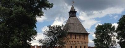Городской Кремлёвский Сад (Кремлёвский сквер) is one of Тула.