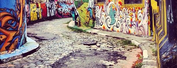 Beco do Batman is one of São Paulo - O que tem por perto?.