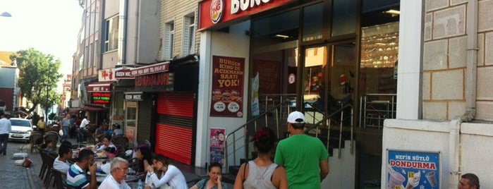Burger King is one of My Istanbul.