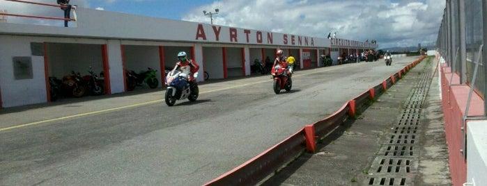 Autódromo Internacional Ayrton Senna is one of conheço.