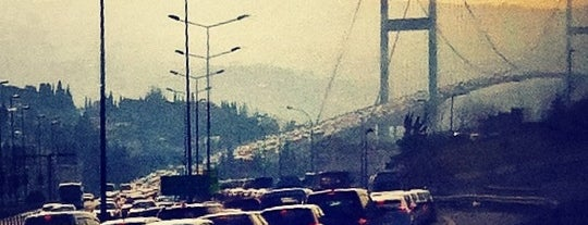 Bosphorus Bridge is one of Istanbul.