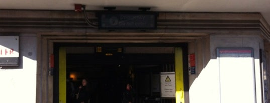 Clapham South London Underground Station is one of Tube Challenge.
