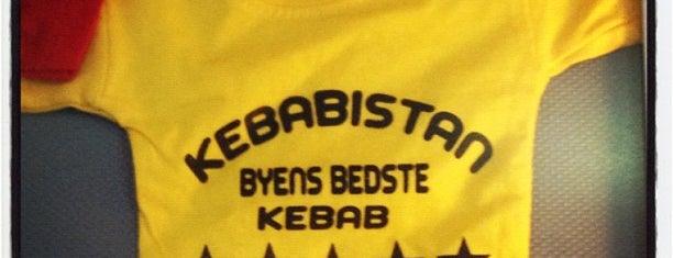 Kebabistan is one of Copenhagen.