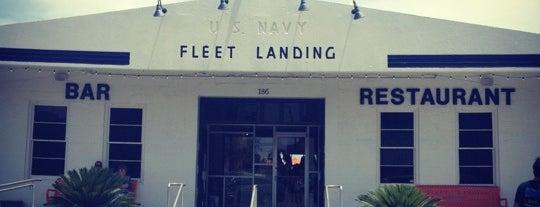 Fleet Landing is one of Charleston.