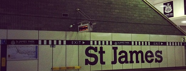 St James Metro Station is one of Railway stations visited.