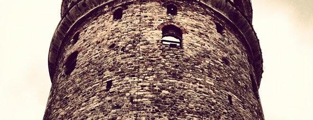 Galataturm is one of Tarih/Kültür (Marmara).