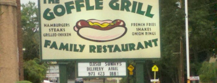 Goffle Grill is one of Places I been to before in my life.