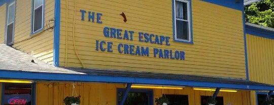 The Great Escape is one of Diner, Deli, Cafe, Grille.