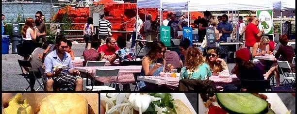 Smorgasburg Williamsburg is one of Wellesley Foodies in NYC.