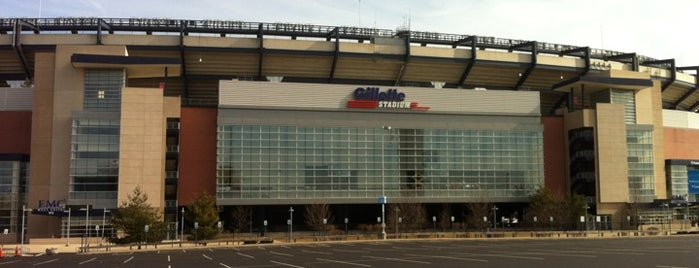 Gillette Stadium is one of Major League Soccer Stadiums.