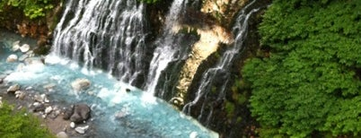 Shirahige Falls is one of 楽.