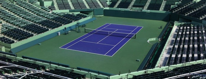 Crandon Tennis Center is one of Miami's must visit!.