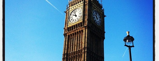 Big Ben (Elizabeth Tower) is one of World Sites.