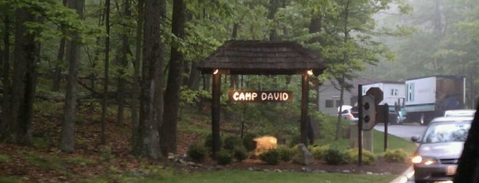 Camp David is one of The Great Outdoors.