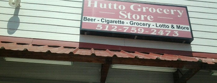 Hutto Grocery Store is one of just here.