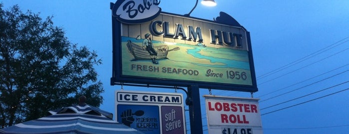 Bob's Clam Hut is one of Maine.