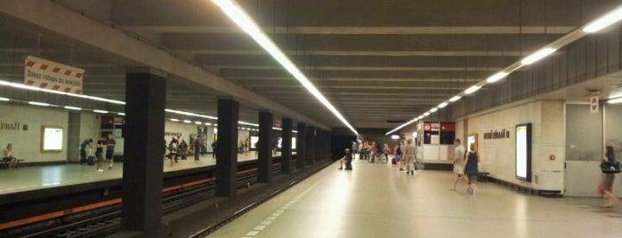 Metro =C= Hlavní nádraží is one of Metro C.