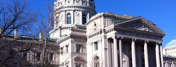 Indiana State Capitol is one of The Best Places in Indianapolis - #VisitUs.