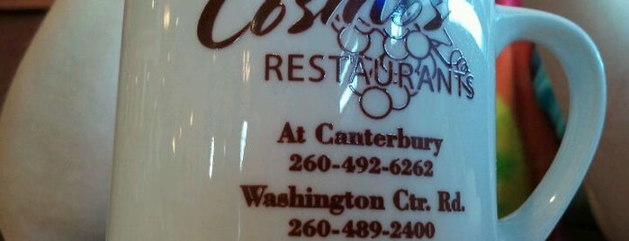 Cosmos Restaurants is one of Fort Wayne Food.