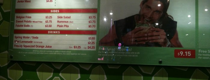 Maoz Falafel & Grill is one of Hell's Kitchen to do.