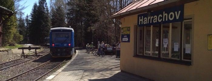 Železniční stanice Harrachov is one of Železniční stanice ČR: H (3/14).