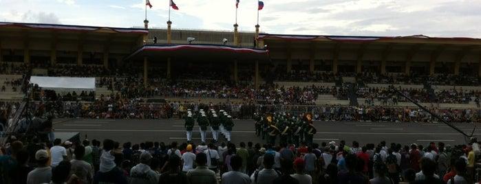 Quirino Grandstand is one of Manila.