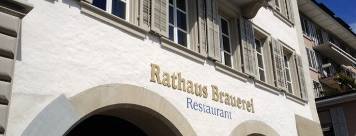 Rathaus Brauerei is one of Swiss.